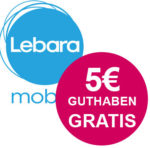 GRATIS: Lebara Prepaid-SIM + 2x 5€ Startguthaben *wieder da*