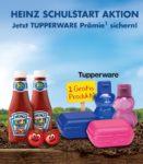 2 Heinz Ketschup kaufen und Tupperware Prämie bekommen 🍅