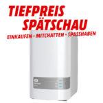 Tiefpreisspätschau bei Media Markt - z.B. WD My Cloud Gen 2 für 219€ (statt 256€)