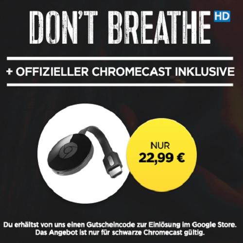 "Google Chromecast 2 für 22,99€ (statt 39€) + Film ""Don't ..."