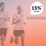 15% Extra-Rabatt auf Artikel von Adidas, asics und Under Armour