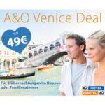 Venedig: 3 Tage im neuen A&O Hotel nur 24,50€ pro Person