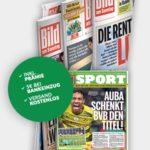 """12 Ausgaben """"Bild am Sonntag"""" ab 18,40€ + 20€ Amazon Gutschein"""