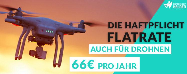 Haftpflicht inkl. Drohnen mit den Haftpflicht Helden