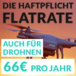Privathaftpflicht als Flatrate (inkl. Drohnen) für nur 66€/Jahr
