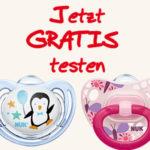 GRATIS: Einen von 10.000 NUK Schnullern kostenlos sichern (neue Schnullergeneration)