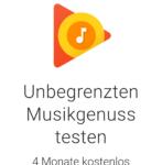 Gratis: Google Play Music wieder 4 Monate kostenlos