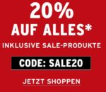 Sale im The Body-Shop: 20% auf alles
