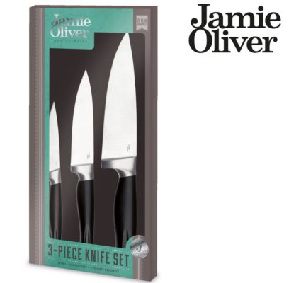 jamie oliver jb7180 messer set 3 teilig f r 40 90 statt 64. Black Bedroom Furniture Sets. Home Design Ideas