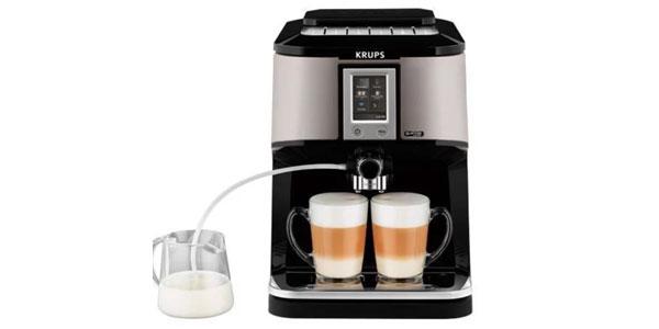 kaffeevollautomat mit touchscreen krups ea880e f r 499 statt 578. Black Bedroom Furniture Sets. Home Design Ideas