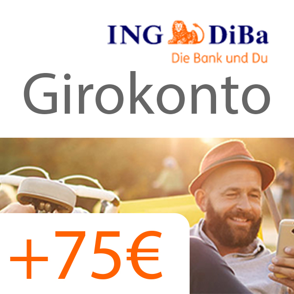 Girokonto Der Ing Diba Logo: *Genial* 💳 75€ Gutschrift Für Kostenloses ING-DiBa Girokonto