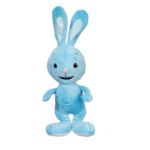 Blaues Plüsch-Kaninchen