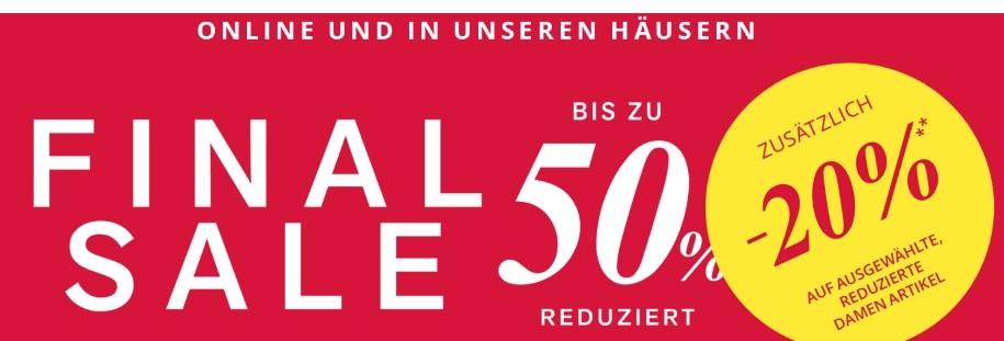 3aeff2fd2226b3 Peek   Cloppenburg Bis zu -50% Sale + 20% Extra-Rabatt + ...