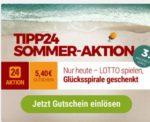 Last Minute: Tipp24 Gutschein über 5.40€ bei Mindesteinsatz von 15.90€