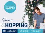 Jetzt bis zu 15% Rabatt mit der TchiboCard!