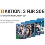 3x 3D Blu-rays für 30€ bei Saturn