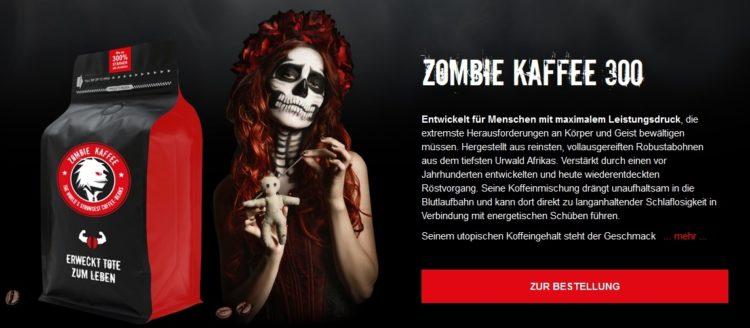 0101baed82 ▷ Zombie Kaffee Gutscheine Juli 2019