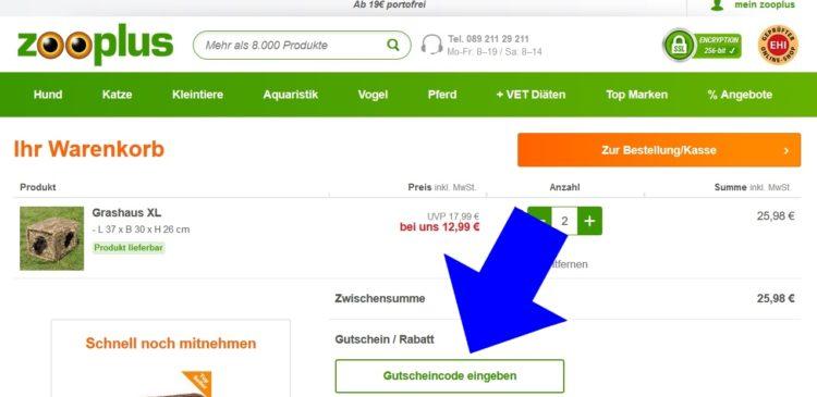 Zooplus registrieren