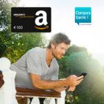 *Knaller* 100€ Amazon.de Gutschein für kostenloses Consorsbank Depot *nur bis 30.09.*