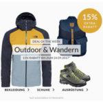 Engelhorn: 15% auf Outdoorartikel und Wandermode