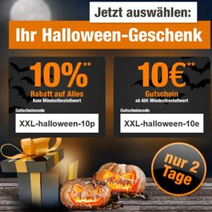 gartenxxl aktion halloween