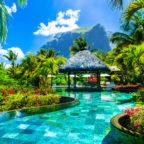 relaxing pool bar Mauritius secret escapes erfahrungen