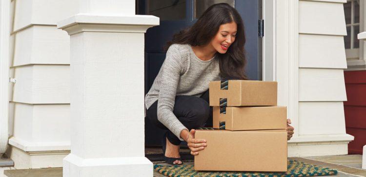 Amazon Paket-Lieferung