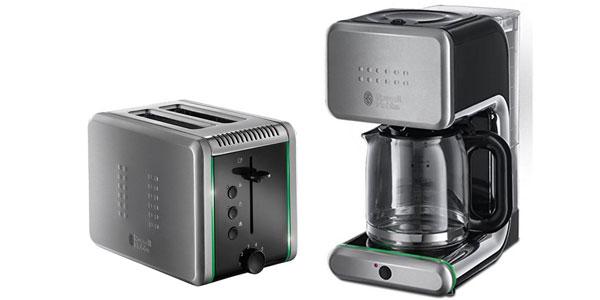 russell hobbs set ilumina kaffeemaschine 20180 56 toaster 20170 56 f r 60 12 statt 106. Black Bedroom Furniture Sets. Home Design Ideas