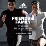 *Nur noch heute* adidas: 25% Gutscheincode + bis zu 50% Rabatt im Outlet (über 5.500 Artikel)