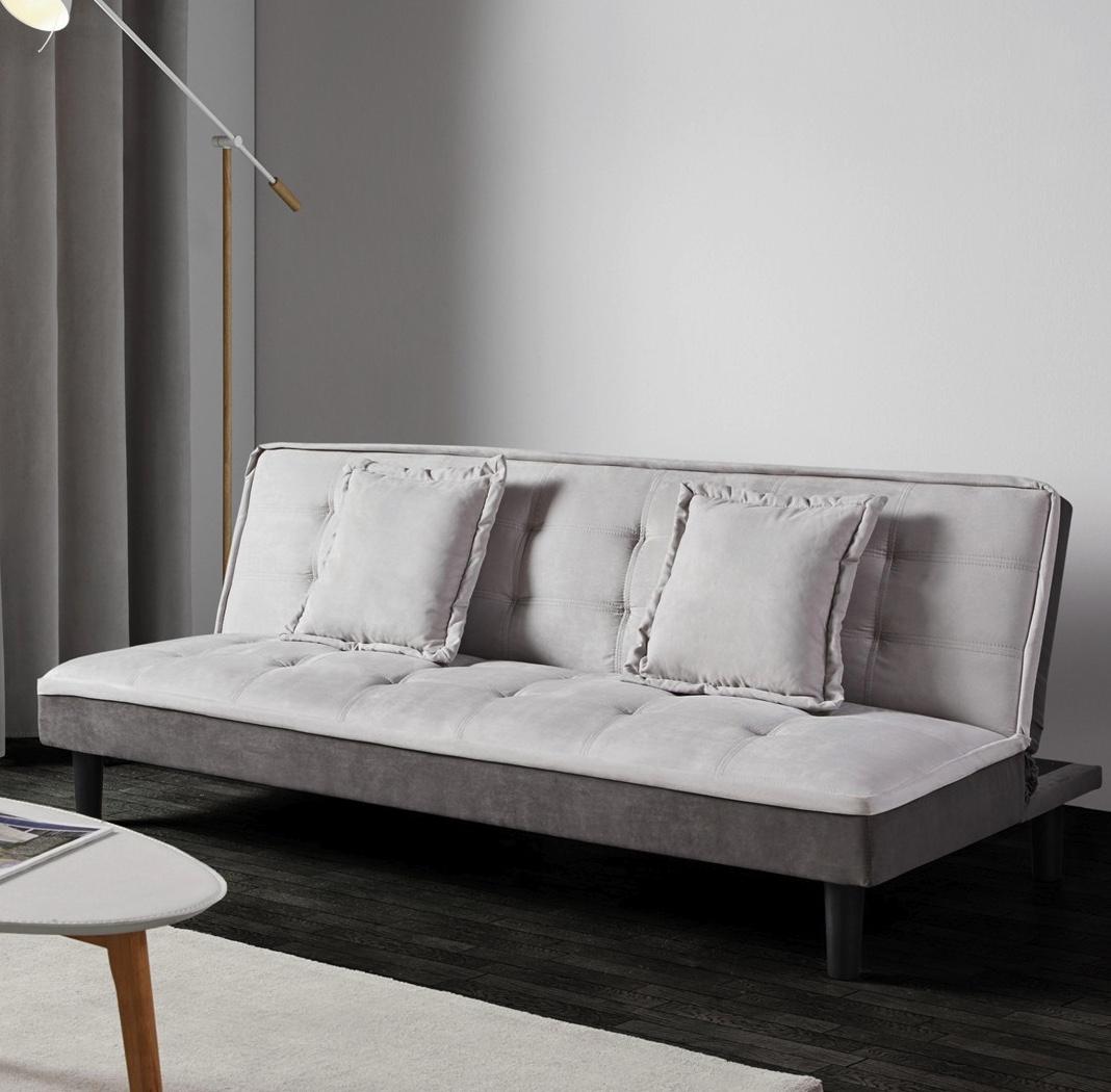 schlafsofa babette inkl 2 kissen f r 59 inklusive lieferung. Black Bedroom Furniture Sets. Home Design Ideas
