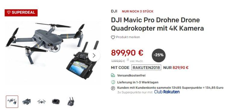 DJI Mavic Pro rakuten Club