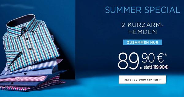 eterna summer special 2 hemden f r 90 85 statt 121. Black Bedroom Furniture Sets. Home Design Ideas