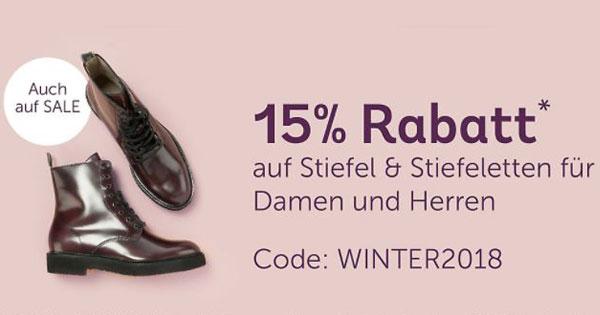 15% Rabatt Aktion auf Gabor Stiefeletten schwarz
