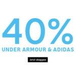 40% Rabatt auf alle adidas & Under Armour Artikel @my-sportswear.de