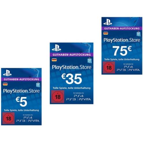 Playstation Karte Aufladen.Psn Guthaben Mit 20 Rabatt Z B 50 Fur 40