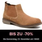Sarenza: Schuhe und Taschen bis zu 70% reduziert - nur bis 23.11., 16 Uhr