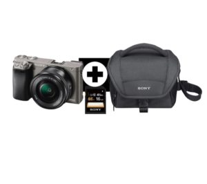 Sony Alpha 6000 Bundle