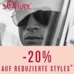 S.Oliver: Bis zu 50% Rabatt im Sale + 20% Extra beim Kauf von 3 Artikeln