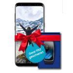 *Schnell* Galaxy S8 + Gear Fit 2 mit 154€ Ersparnis + effektiv GRATIS: Allnet-Flat + 1GB (Telekom- & Vodafone-Netz)
