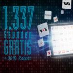 Gratis: Online-Videorekorder save.tv 1.337 Stunden kostenlos testen + 30% Folgerabatt bei Bedarf