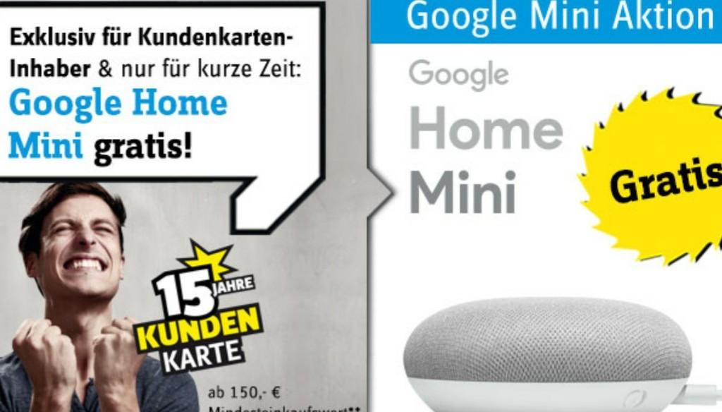 google home mini gratis bei mindestbestellwert 150 schn ppchen blog mit. Black Bedroom Furniture Sets. Home Design Ideas