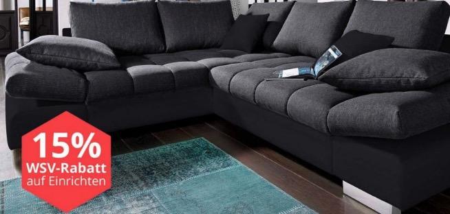 g nstige m bel 15 gutschein auf einrichtungen gratis lieferung auf alles bei yourhome. Black Bedroom Furniture Sets. Home Design Ideas