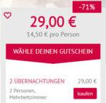 A&O: 2 Übernachtungen für 2 Personen für 14,50€ pro Person - z.B. in Venedig, Berlin, Wien uvm.