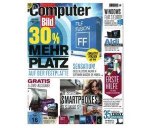 Computer Bild mit DVD