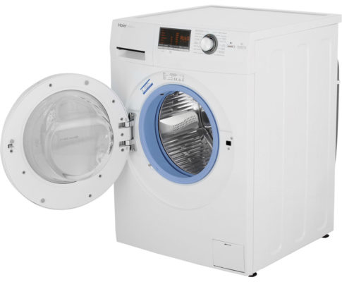 waschmaschine haier hw80 b14266 8 kg 1400 u min a f r 289 statt 358. Black Bedroom Furniture Sets. Home Design Ideas