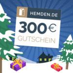 Adventskalender 2018 - Türchen 11: 300€ Gutschein für Hemden.de gewinnen