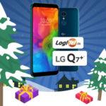 Adventskalender 2018 - Türchen 15: LG Q7+ Smartphone (5,5 Zoll, 64 GB) gewinnen