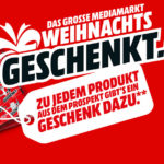 "MediaMarkt: GRATIS Geschenk zu Produkten, z.B. Sony 55"" 4K Smart-TV + PS4 Slim 500GB für 999€ - Aktion: MediaMarkt Weihnachts-Geschenkt"