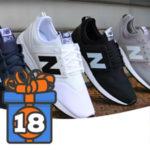 Adventskalender Türchen 18: 3x New Balance Sneaker von Sportspar zu gewinnen