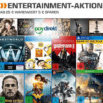 Saturn: 5€ Rabatt auf ausgewählte Spiele, Musik und Filme ab 25€ MBW bei Zahlung mit PayDirekt